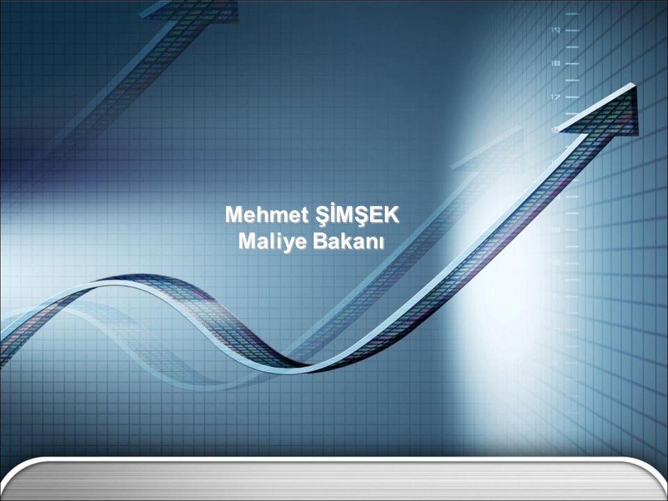 Mehmet ŞİMŞEK Maliye Bakanı