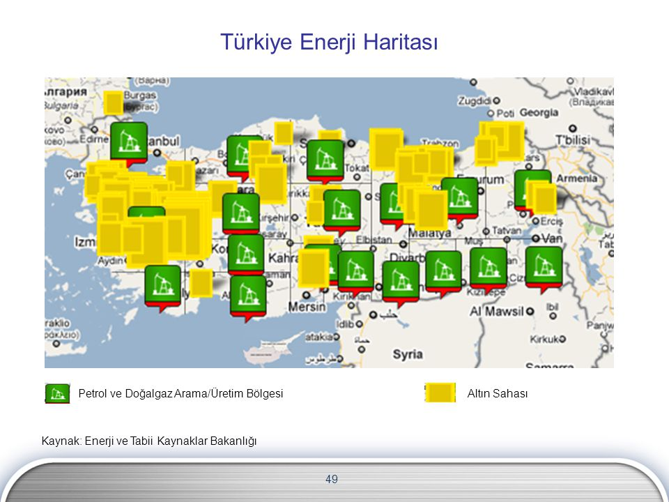 Türkiye Enerji Haritası