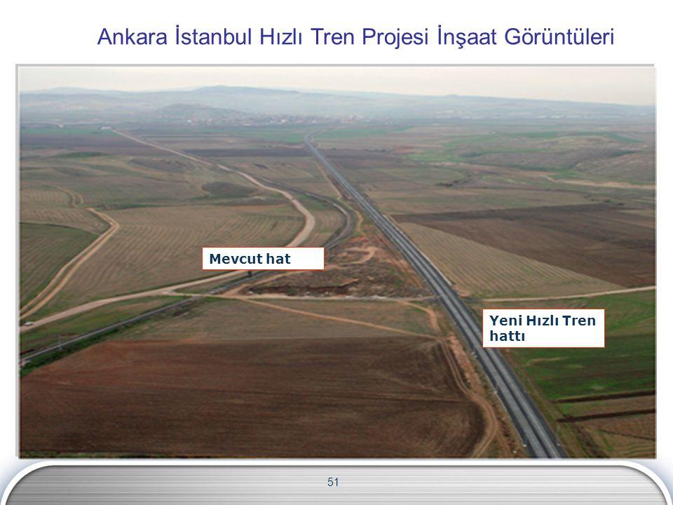 Ankara İstanbul Hızlı Tren Projesi İnşaat Görüntüleri