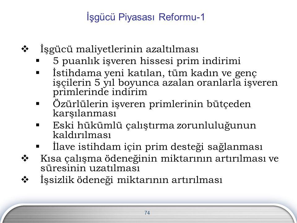 İşgücü Piyasası Reformu-1