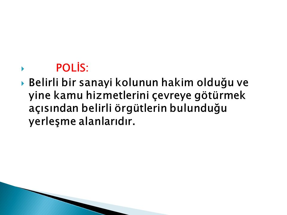 POLİS: