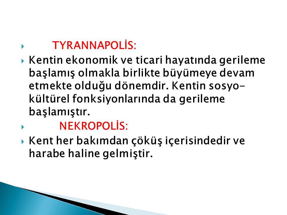 TYRANNAPOLİS: