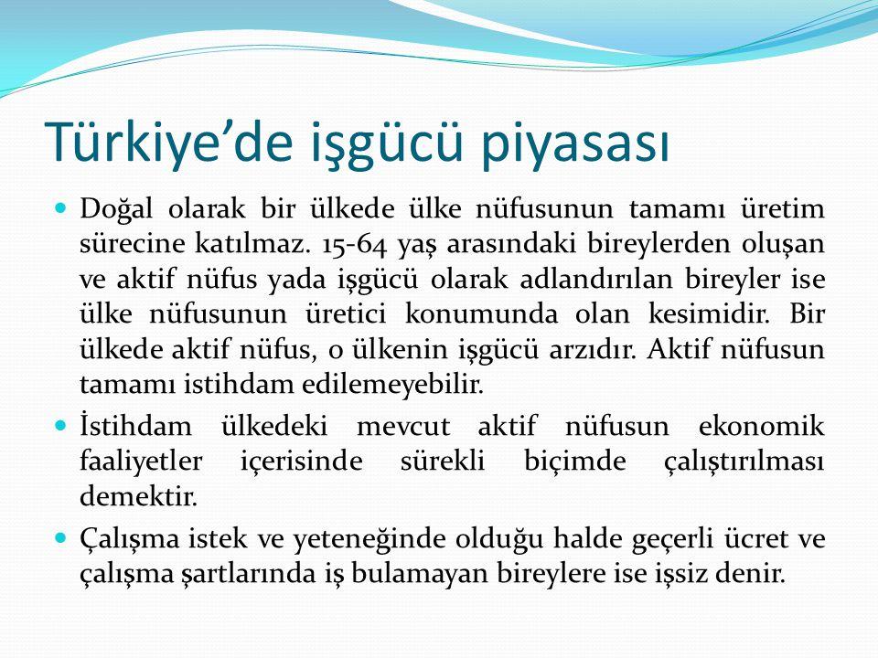 Türkiye'de işgücü piyasası