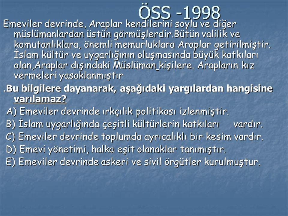 ÖSS -1998
