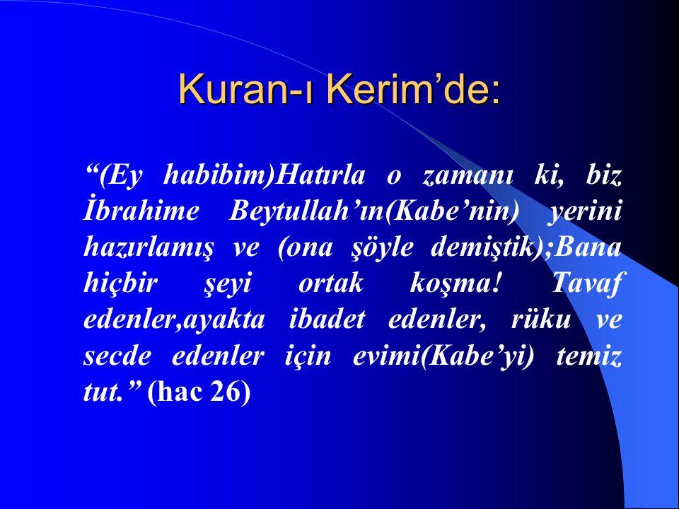 Kuran-ı Kerim'de: