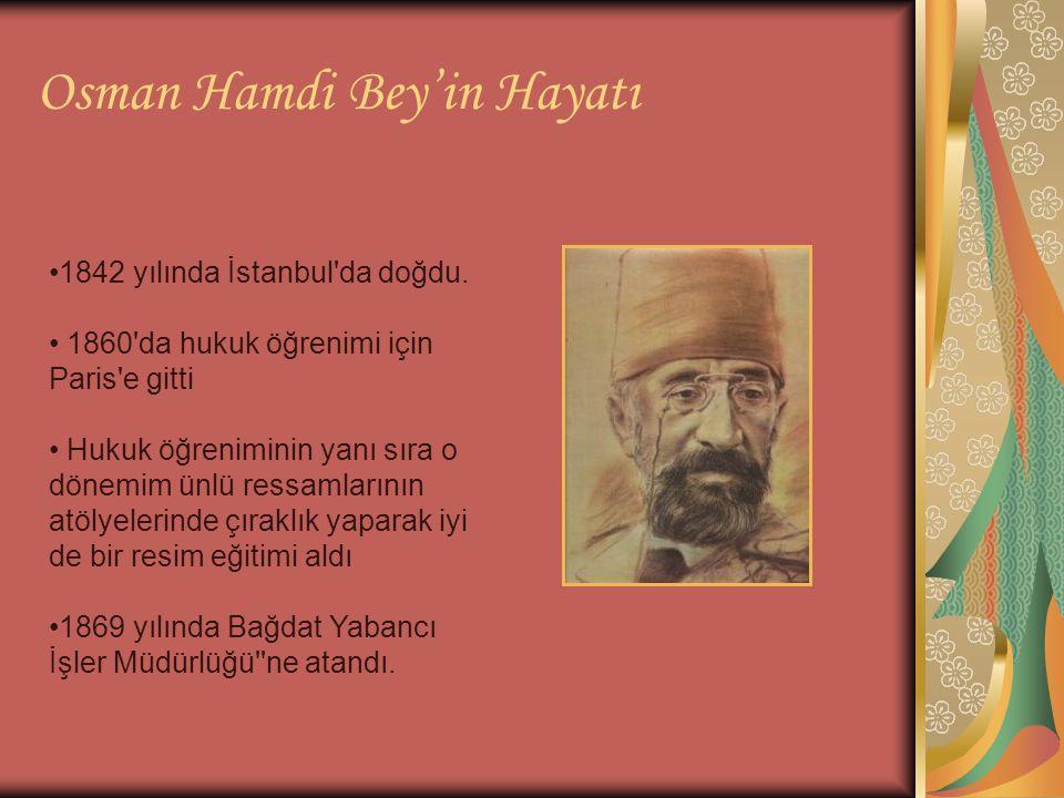 Osman Hamdi Bey'in Hayatı