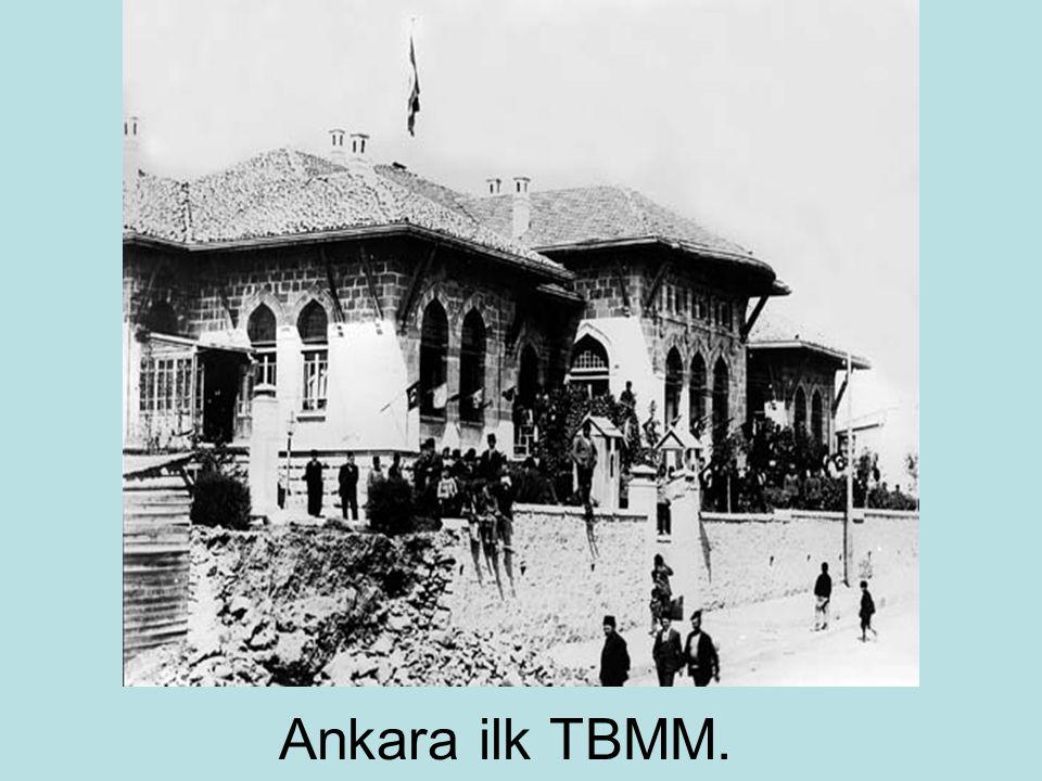 Ankara ilk TBMM.