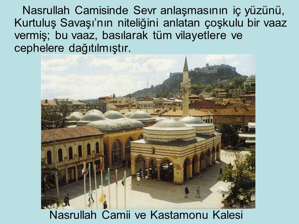 Nasrullah Camii ve Kastamonu Kalesi