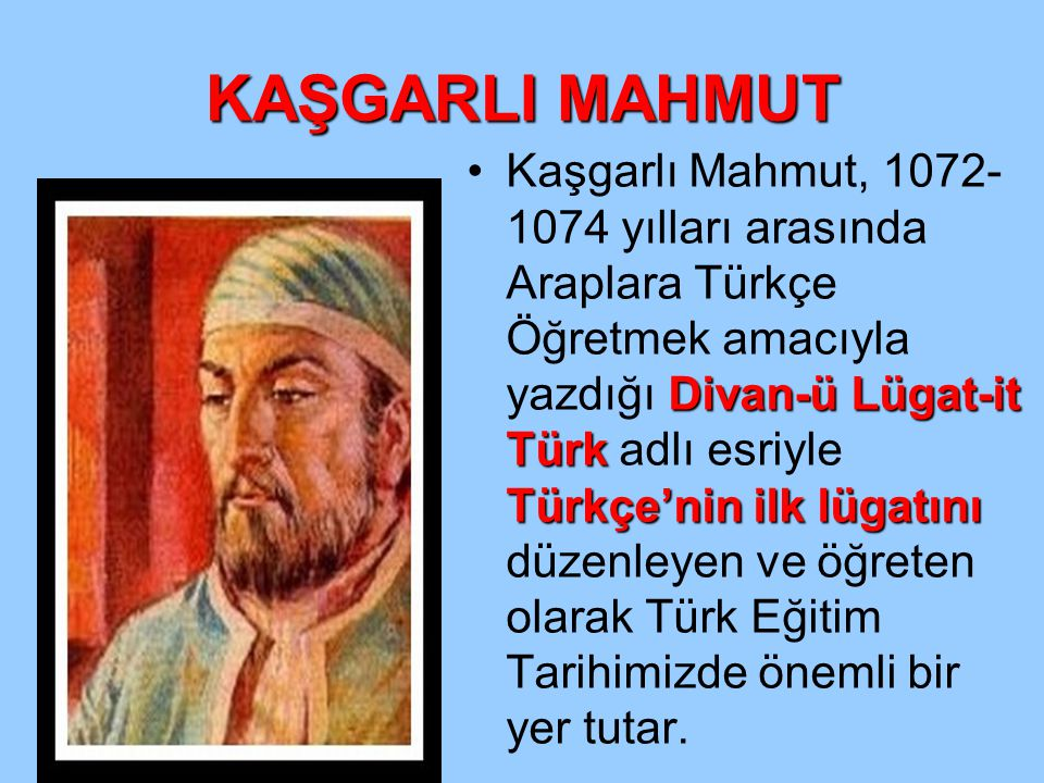KAŞGARLI MAHMUT