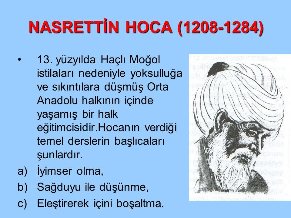 NASRETTİN HOCA (1208-1284)