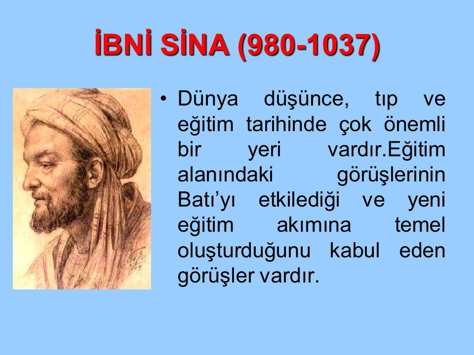 İBNİ SİNA (980-1037)