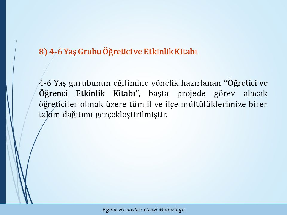 8) 4-6 Yaş Grubu Öğretici ve Etkinlik Kitabı