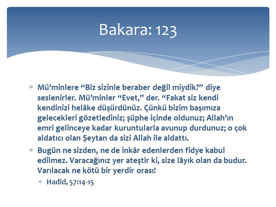 Bakara: 123