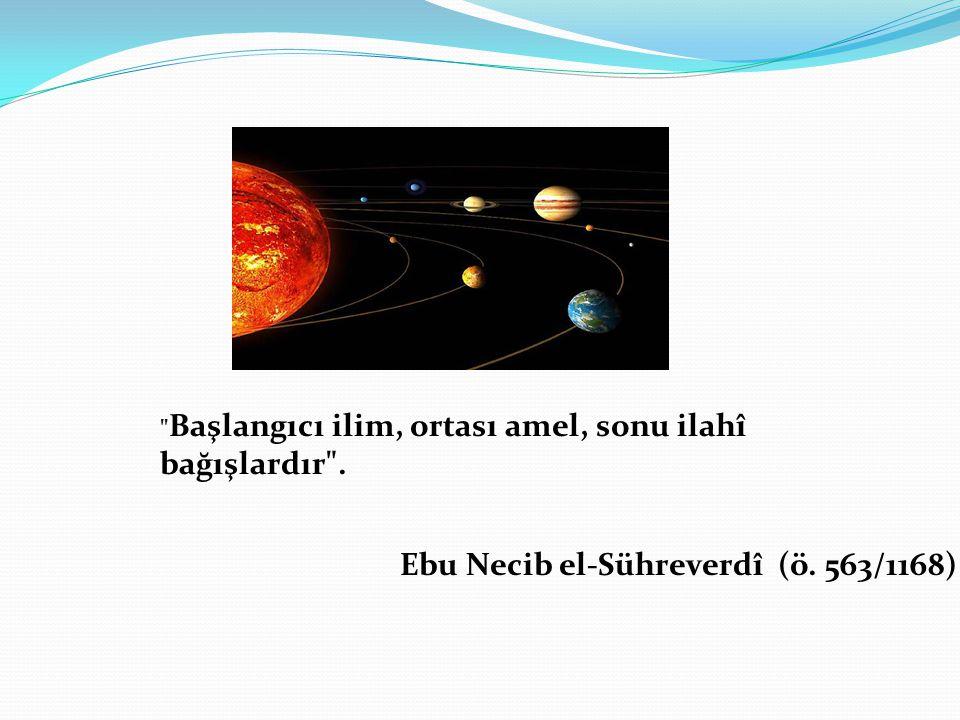Ebu Necib el-Sühreverdî (ö. 563/1168)