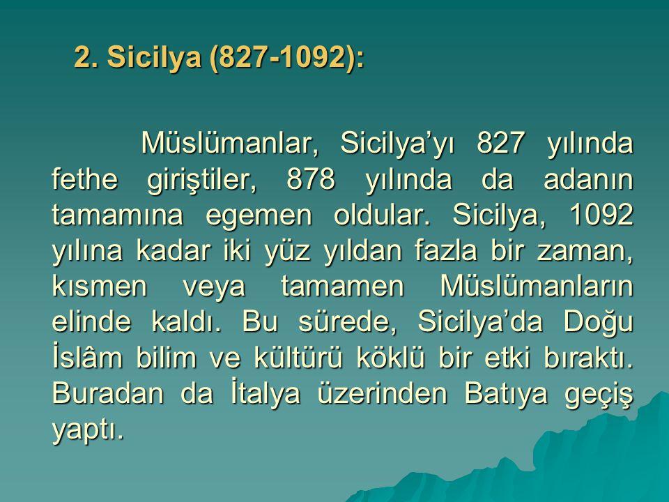 2. Sicilya (827-1092):