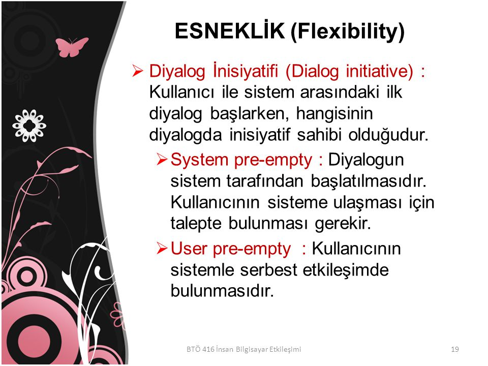 ESNEKLİK (Flexibility)