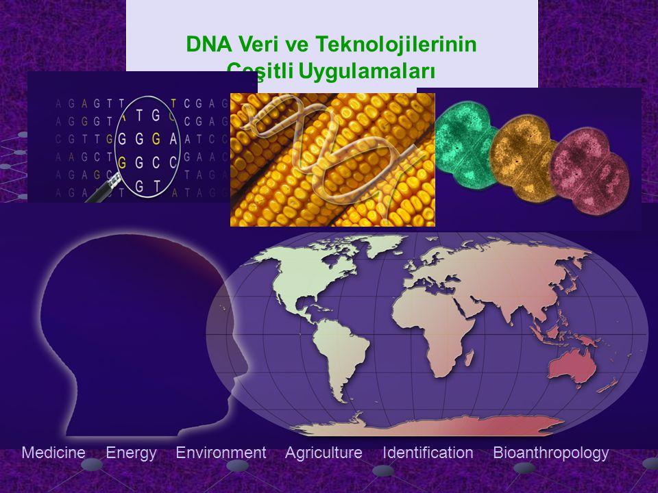 DNA Veri ve Teknolojilerinin