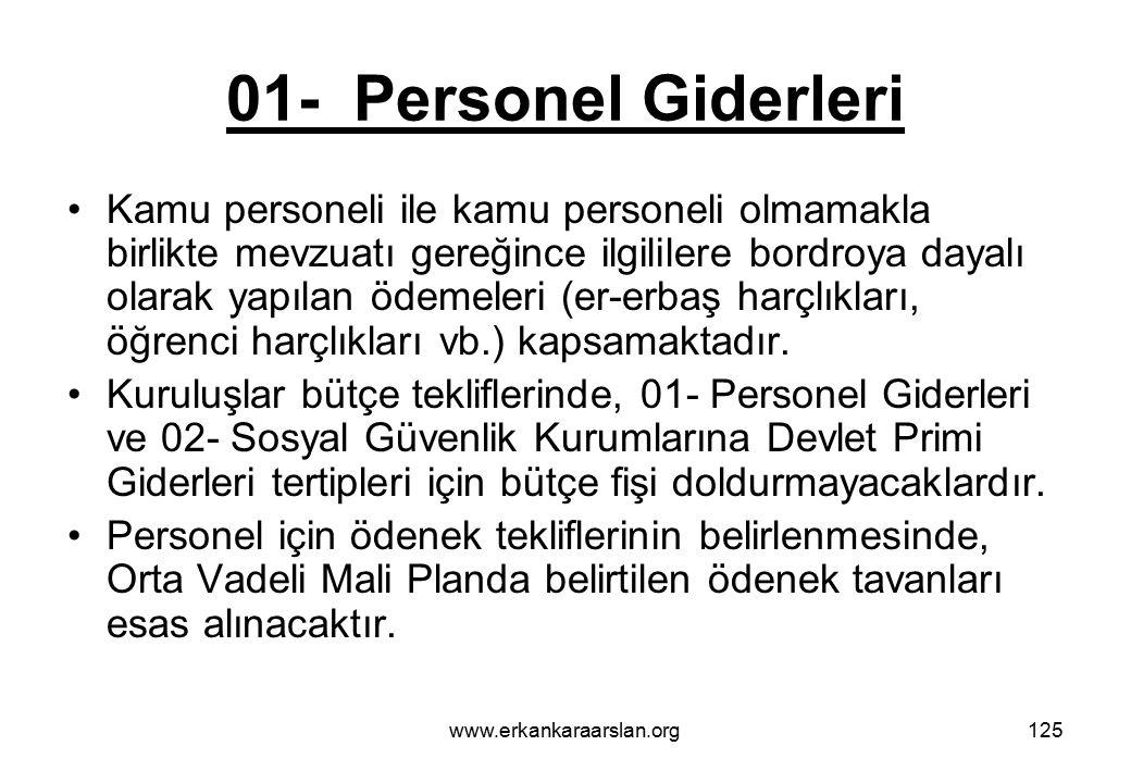 01- Personel Giderleri