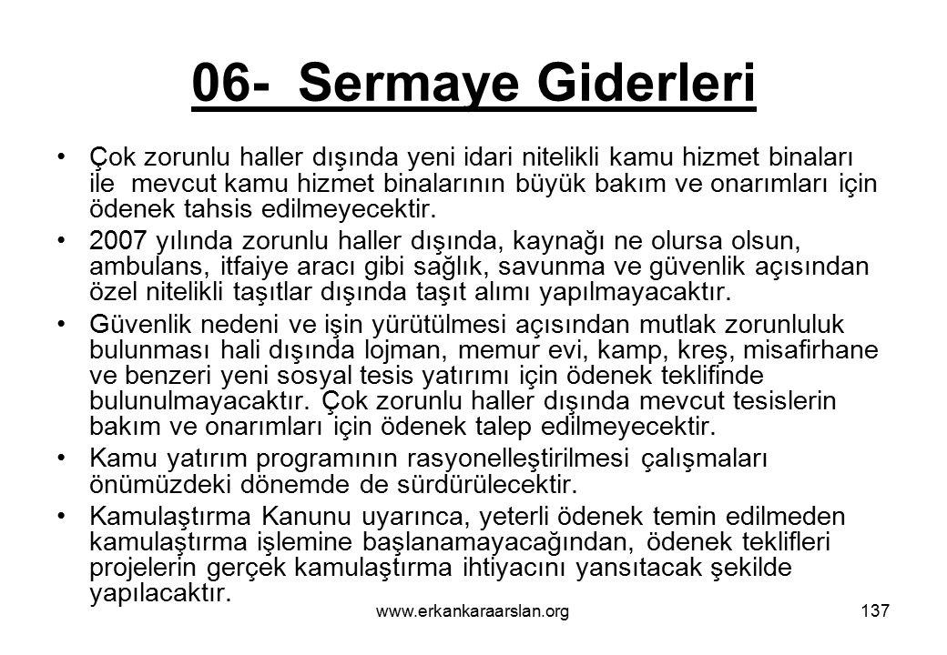 06- Sermaye Giderleri
