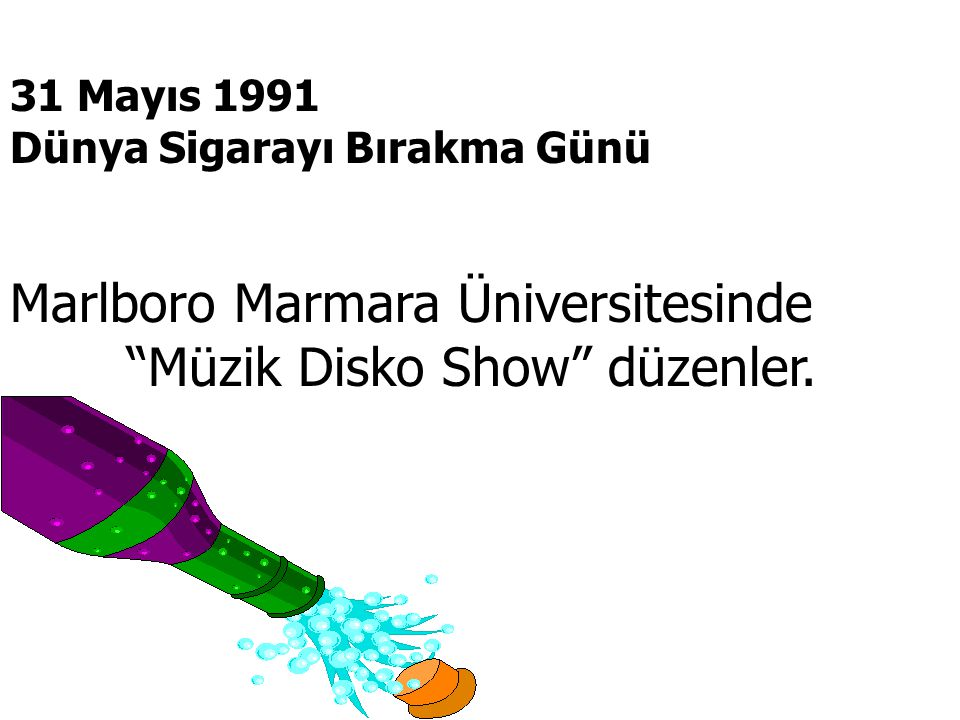 Marlboro Marmara Üniversitesinde Müzik Disko Show düzenler.
