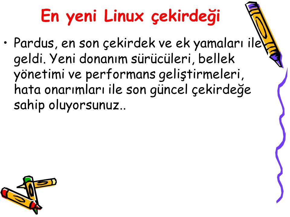 En yeni Linux çekirdeği