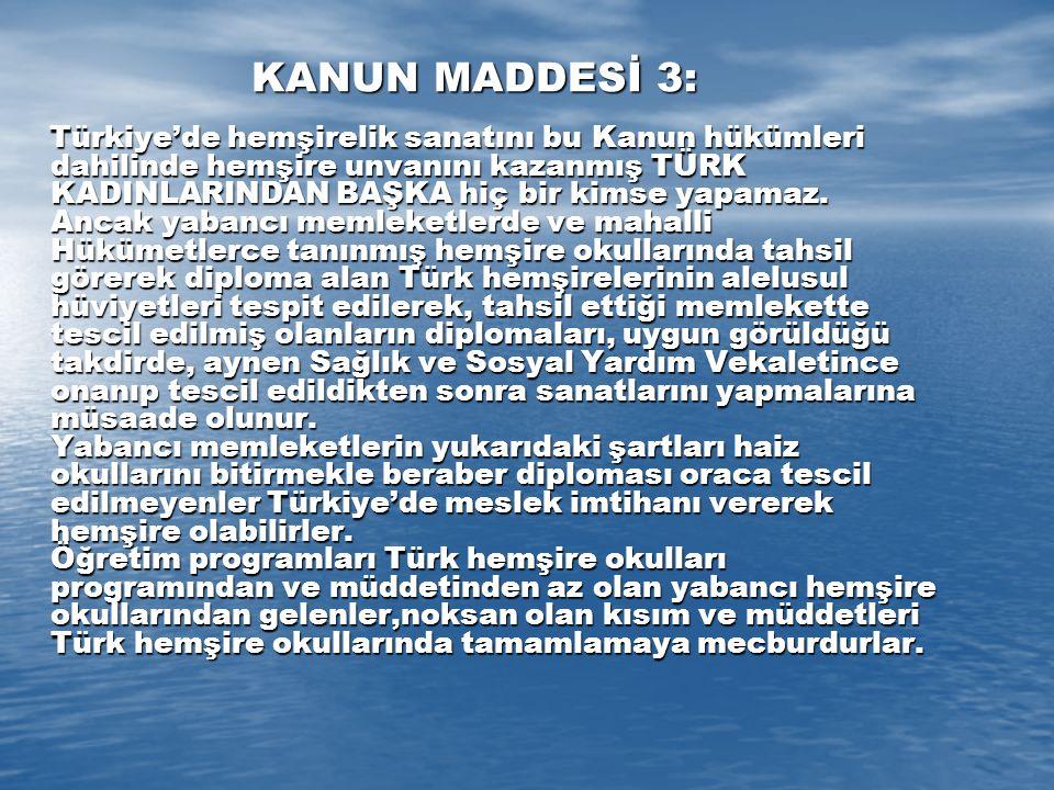 KANUN MADDESİ 3: