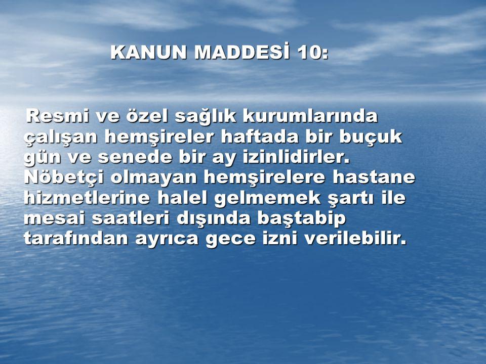 KANUN MADDESİ 10: