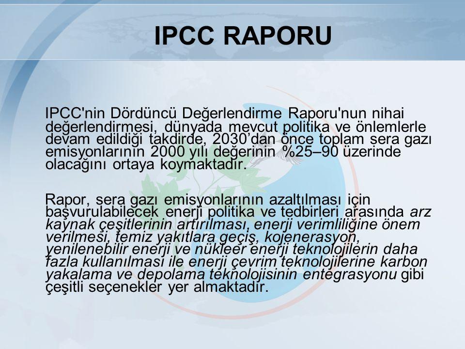 IPCC RAPORU