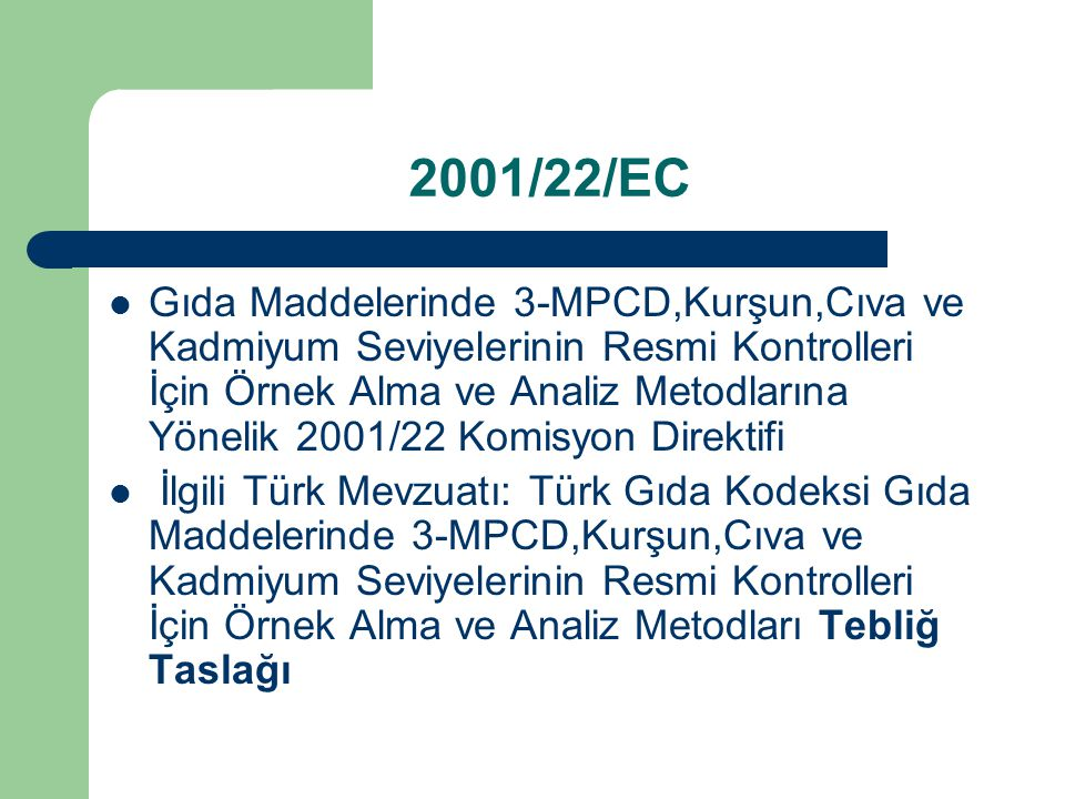 2001/22/EC