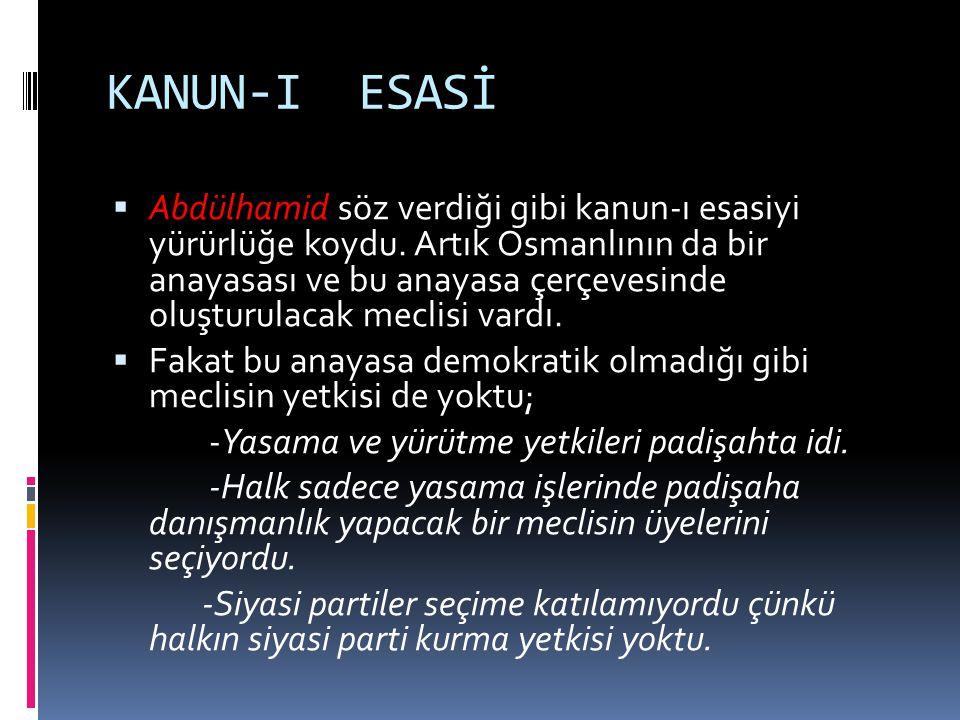 KANUN-I ESASİ