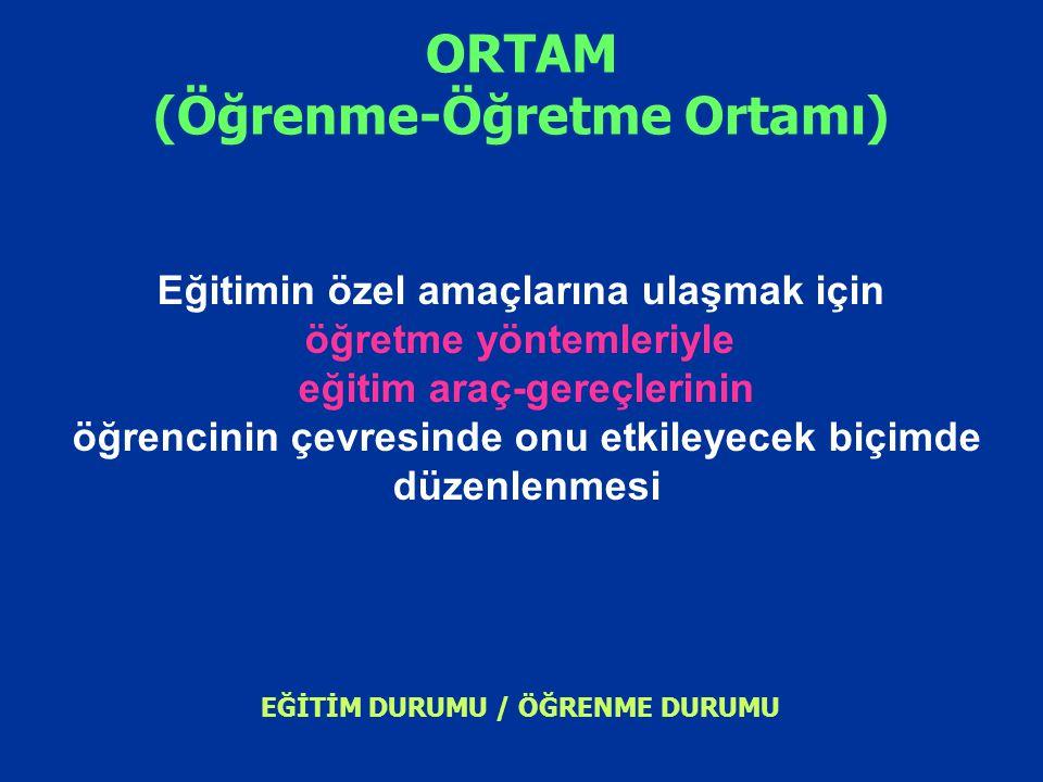 ORTAM (Öğrenme-Öğretme Ortamı)
