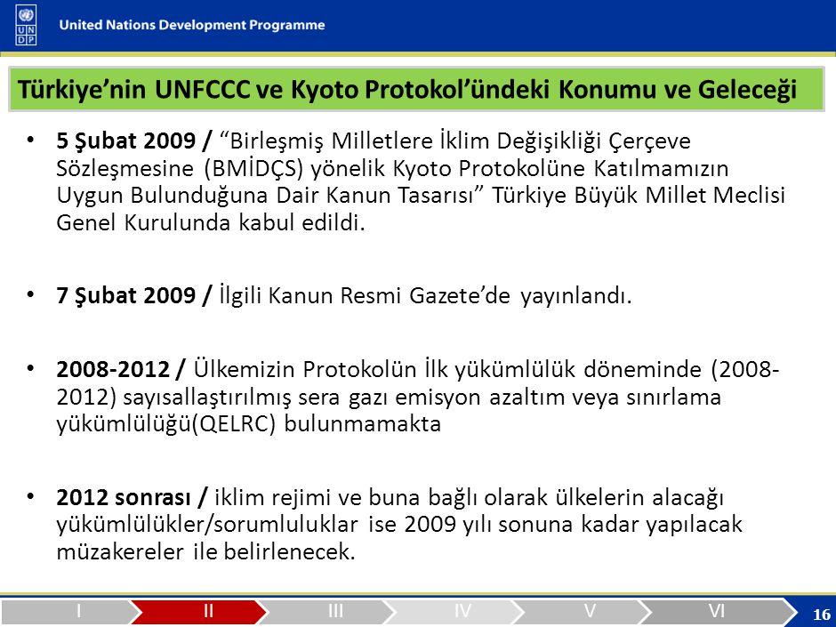 Türkiye'nin iklim değişikliği uluslararası müzakerelerine etkin katılımının sağlanması ve gönüllü karbon piyasalarında daha iyi deneyimler elde ederek Kyoto Protokolü'nün esneklik mekanizmalarını 2012 sonrasında başarılı şekilde tecrübe etmesi yönünde kapasitelerinin geliştirilmesi amacıyla bu proje ye ihtiyaç duyuldu ve geçen Ocak ayının sonlarına doğru hayata geçirildi.