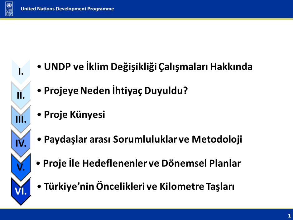 UNDP ve İklim Değişikliği Çalışmaları Hakkında
