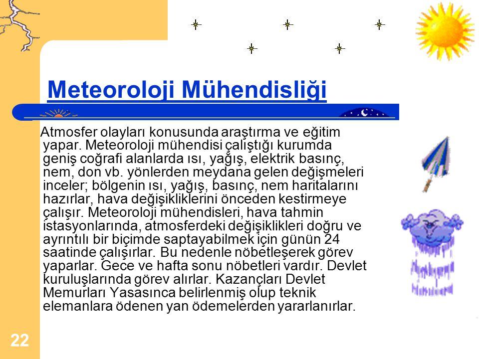 Meteoroloji Mühendisliği
