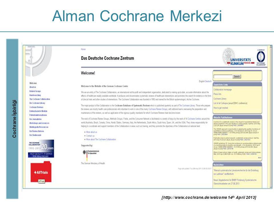 Alman Cochrane Merkezi