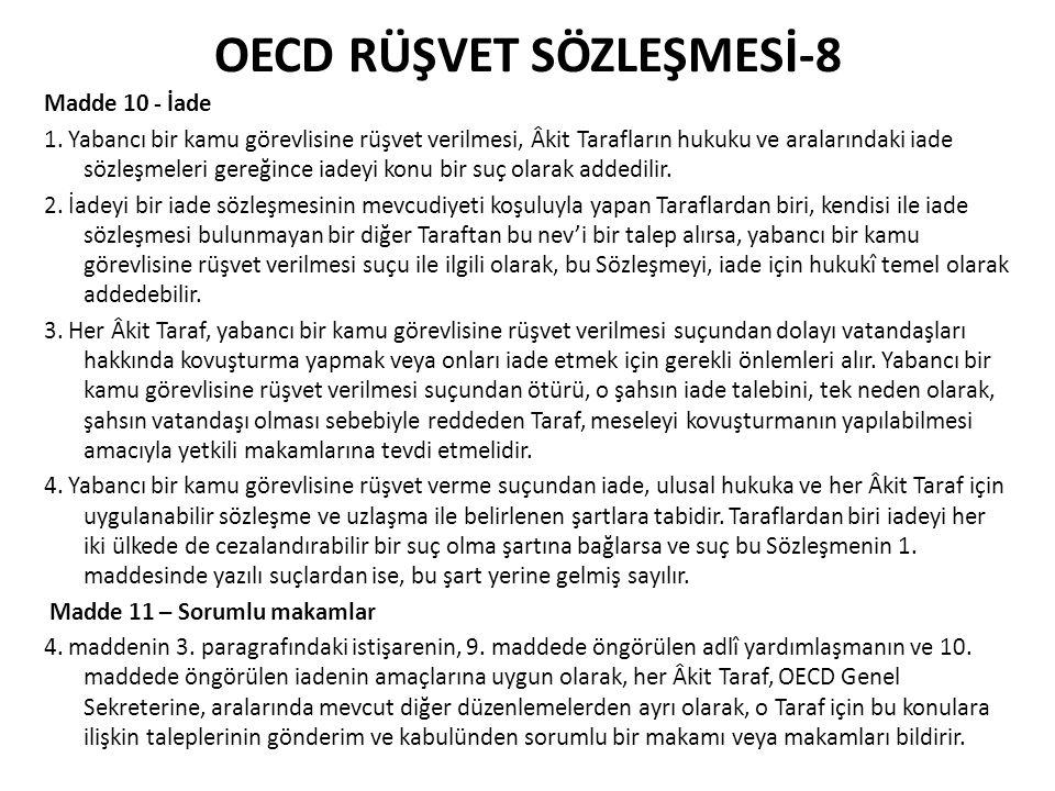 OECD RÜŞVET SÖZLEŞMESİ-8
