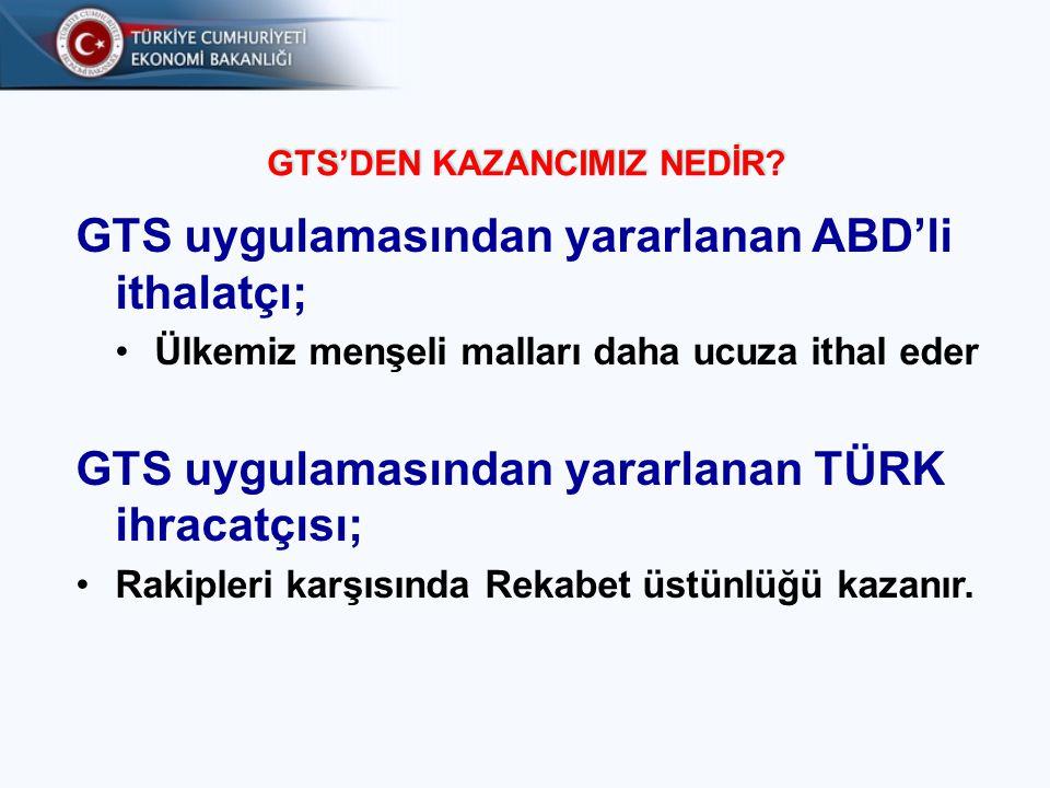 GTS'DEN KAZANCIMIZ NEDİR
