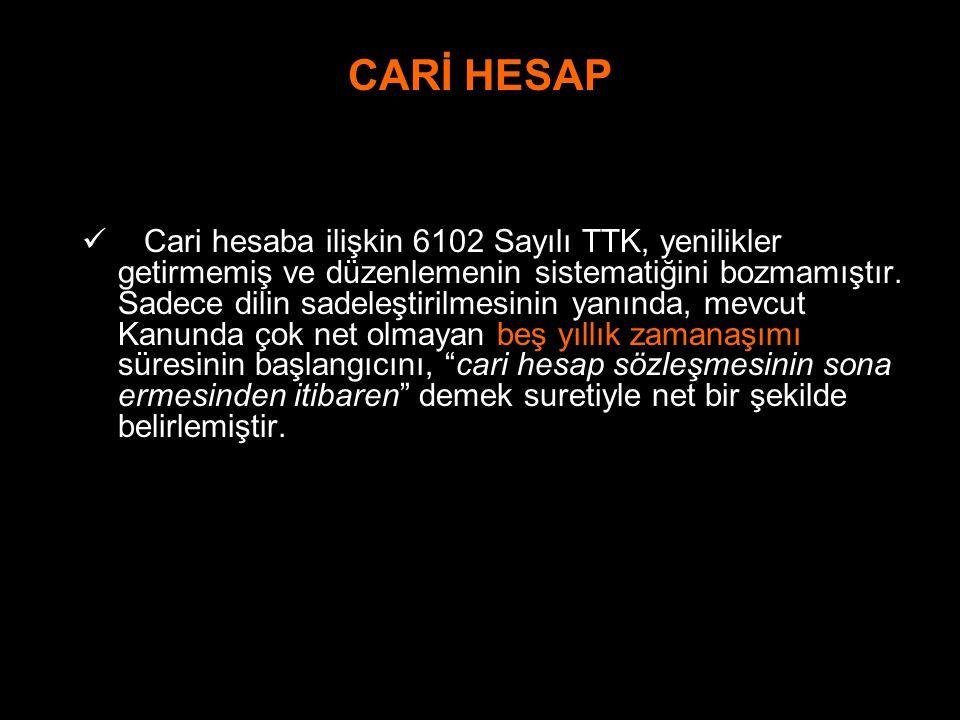 CARİ HESAP