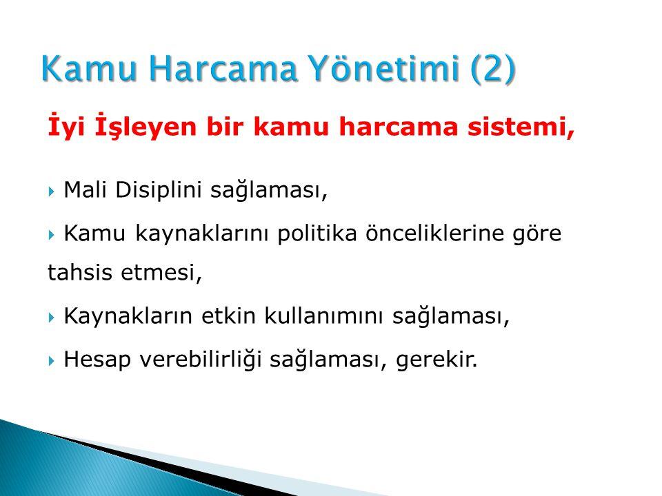 Kamu Harcama Yönetimi (2)