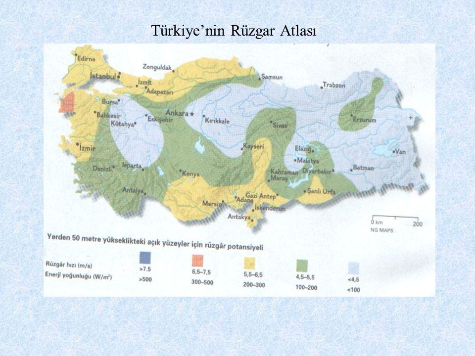 Türkiye'nin Rüzgar Atlası