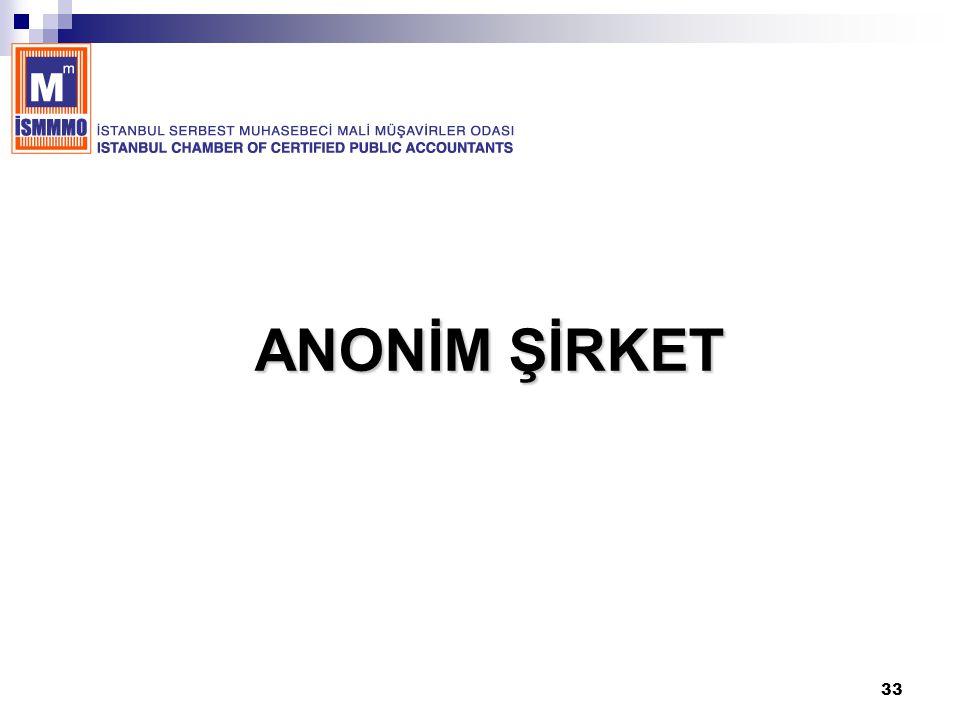 ANONİM ŞİRKET
