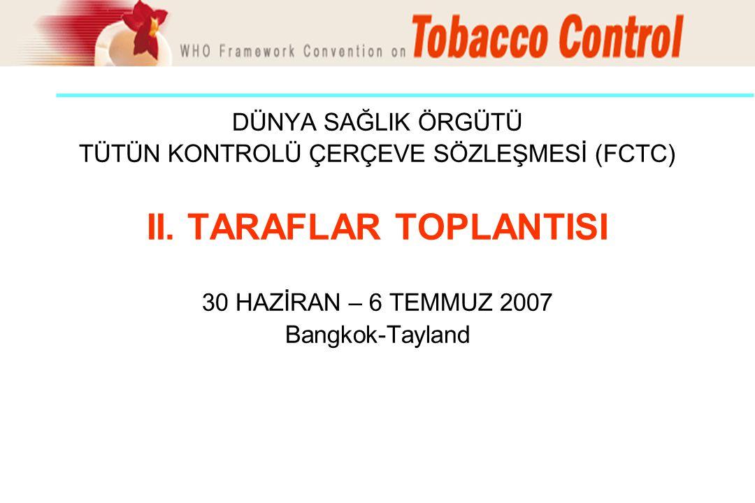 II. TARAFLAR TOPLANTISI