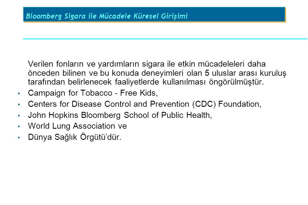 Bloomberg Sigara ile Mücadele Küresel Girişimi