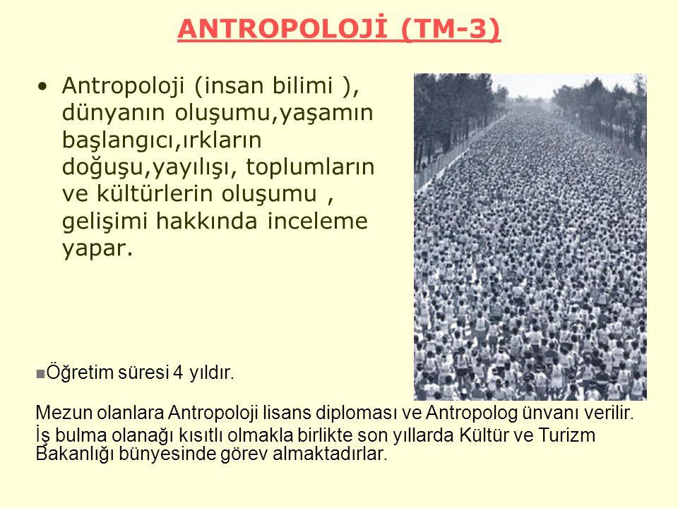 ANTROPOLOJİ (TM-3)