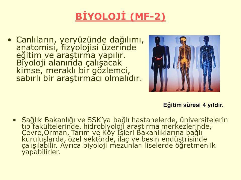 BİYOLOJİ (MF-2)