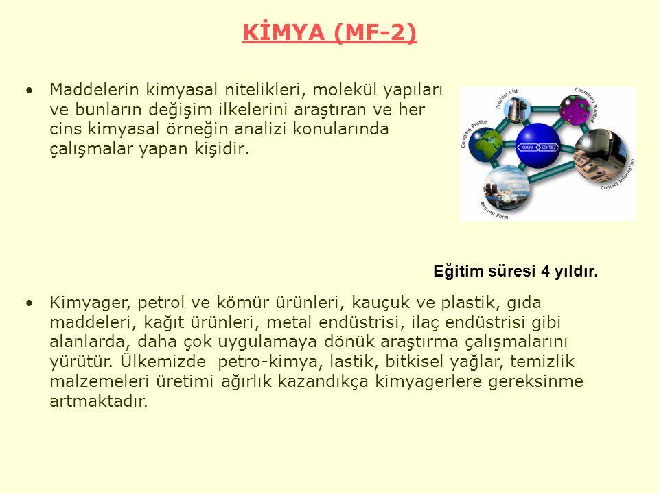 KİMYA (MF-2)