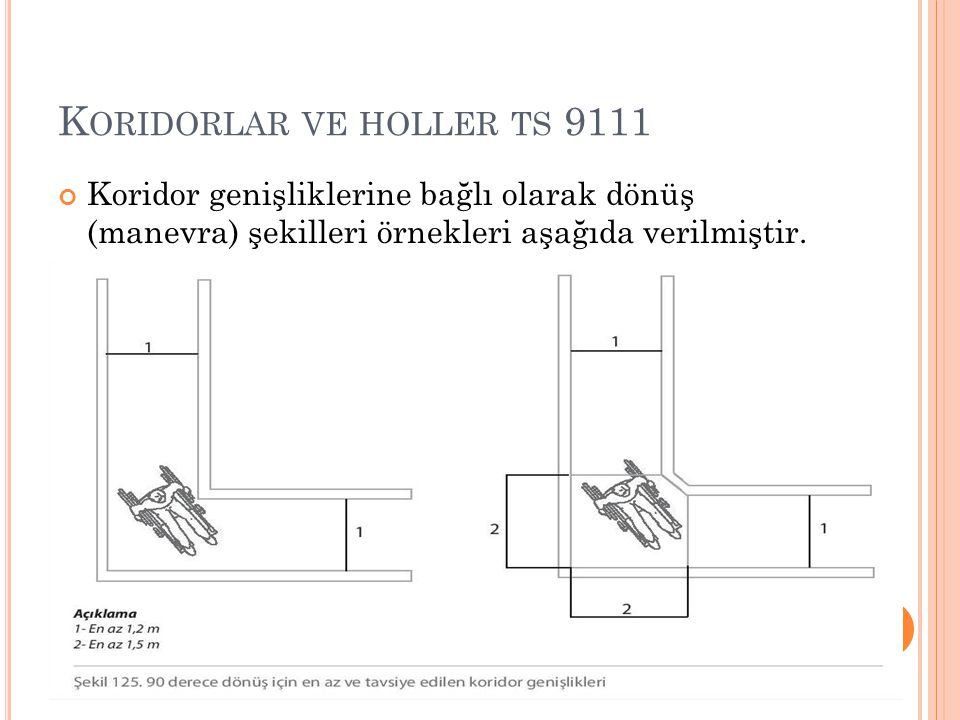 Koridorlar ve holler ts 9111