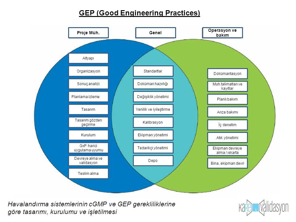 . GEP (Good Engineering Practices)