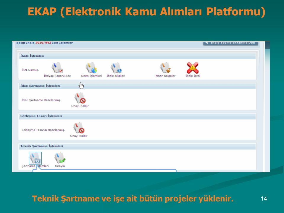 EKAP (Elektronik Kamu Alımları Platformu)