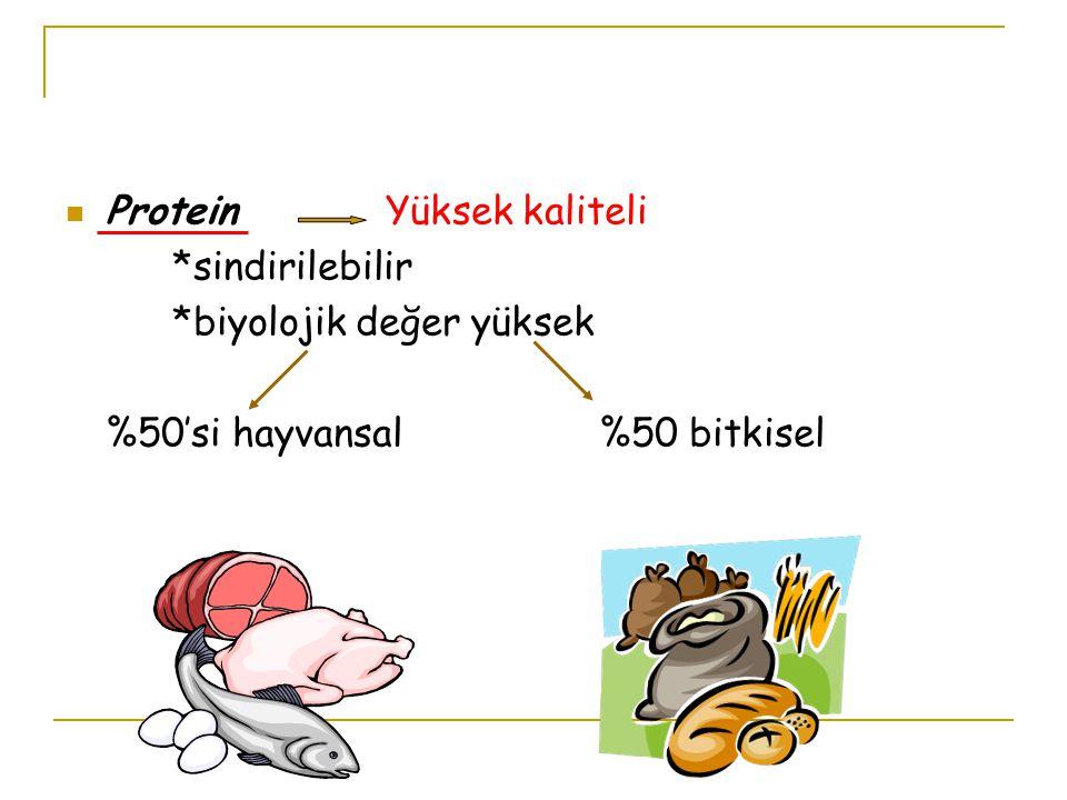 Protein Yüksek kaliteli